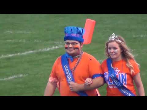 Introduction of the Genoa Kingston High School Homecoming Court