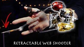Make a Retractable Spider-Man Web Dart Gun (Powerful)