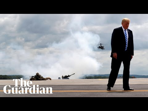 Donald Trump declares national emergency - watch live