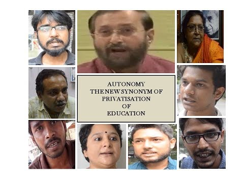AUTONOMY-THE NEW SYNONYM FOR PRIVATISATION OF EDUCATION