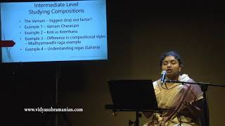 Lec-dem: Carnatic Music Theory and Practice - Bridging the gap Part 4