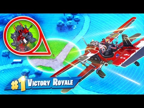 WINNING With *ONLY* the PLANE In Fortnite!