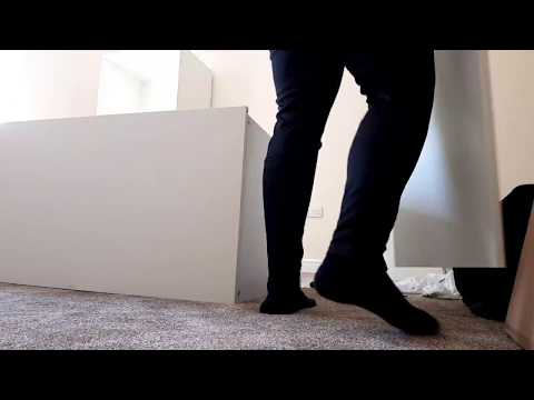 Flat Pack Professionals Ikea Platsa Wardrobe Time Lapse 005 Youtube