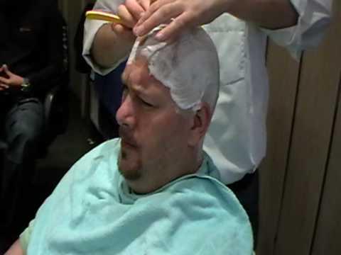 Jumbo beim Frisuer