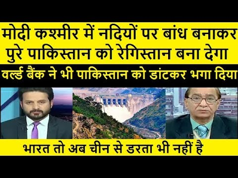 pak Media Reaction on india make water transporting system on indus water Treaty