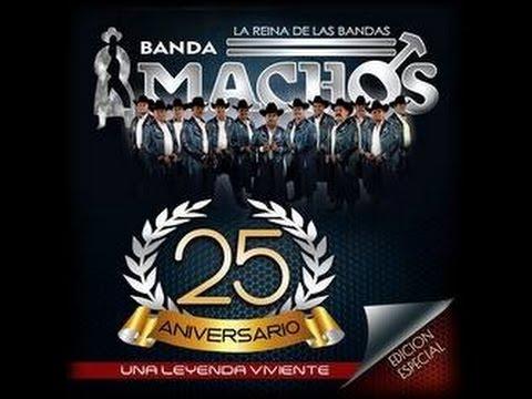 BANDA MACHOS, DISCO COMPLETO 2015 UNA LEYENDA VIVIENTE