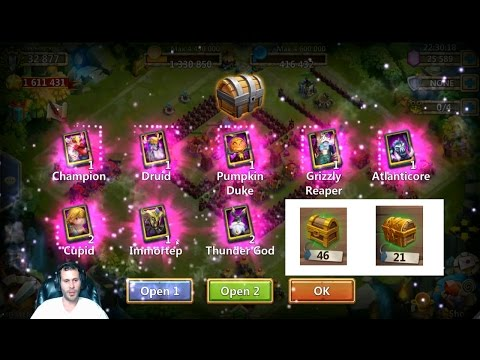 Very Good 100% Free 2 Play Account Giveaway + Rolling 25k On It Castle Clash
