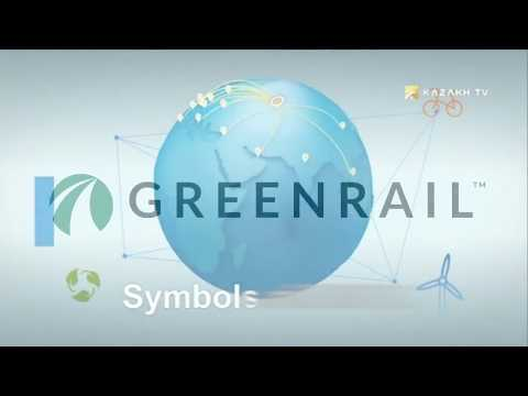 """Greenrail in """"EXPO Life"""" by KAZAKH TV"""