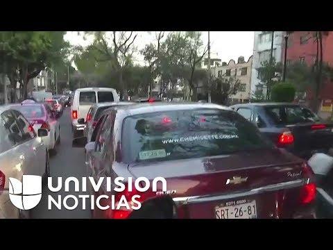 Cobertura especial: un fuerte sismo de magnitud 7 se registra en México