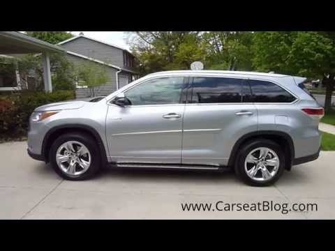 2014-2015 Toyota Highlander Hybrid Review Part I: Kids, Carseats & Safety