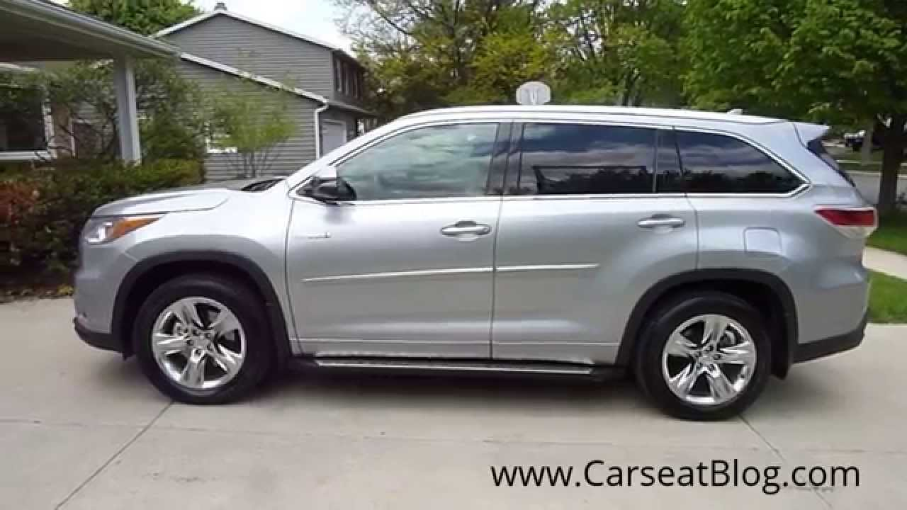 2014 2015 Toyota Highlander Hybrid Review Part I: Kids, Carseats U0026 Safety    YouTube