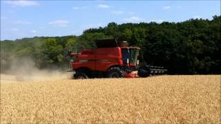 new combine case ih x flow 7140