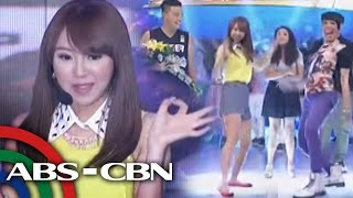 Gambar cover 'Gwiyomi' singer dances 'Whoops Kiri' with Vice Ganda
