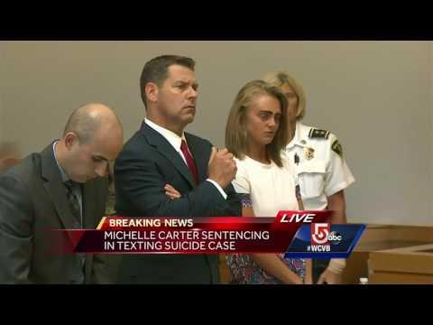 Watch: Judge sentences teen in texting suicide case