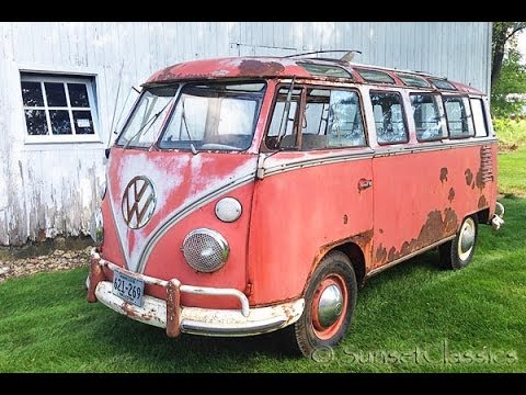 1963 23 window vw bus for sale youtube. Black Bedroom Furniture Sets. Home Design Ideas