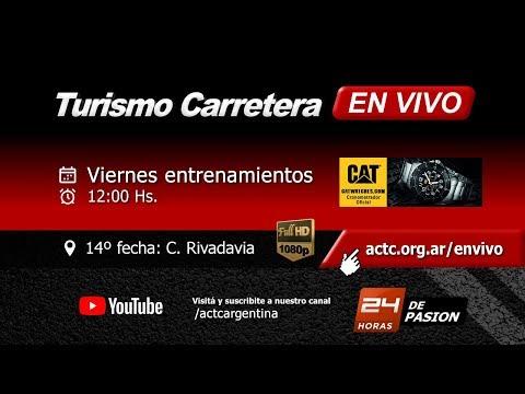 14-2017) C. Rivadavia: Viernes Entrenamientos TC