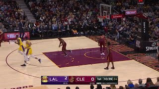 1st Quarter, One Box Video: Cleveland Cavaliers vs. Los Angeles Lakers