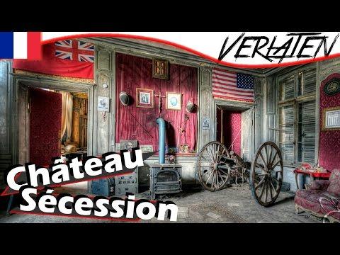 VERLATEN Kasteel in FRANKRIJK met Oorlogskamer!