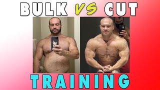 Training on a Bขlk vs a Cut