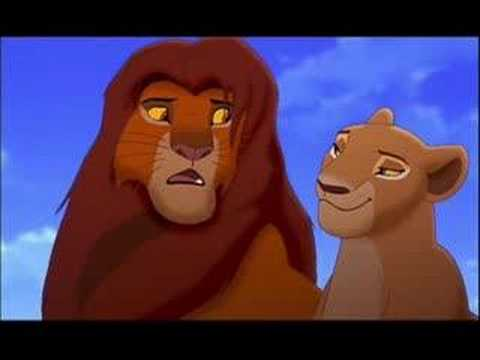 Kiss The Girl Simba ♥ Nala