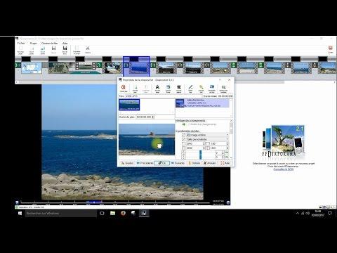 ffdiaporama : diaporama et montage vidéo