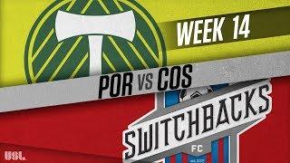 Portland timbers 2 vs colorado springs switchbacks fc: june 17, 2018