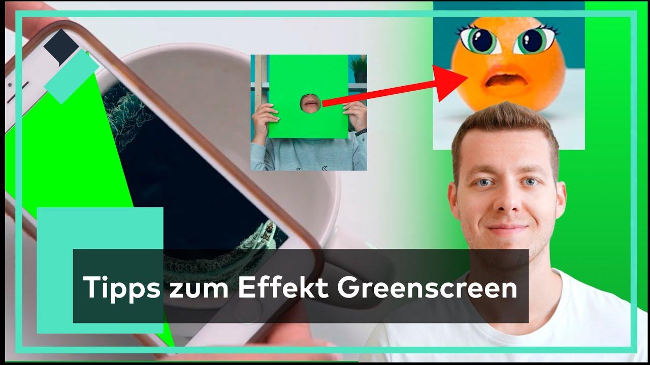Chroma Keying - Tipps zum Effekt Greenscreen in Filmora   Filmora Tutorial
