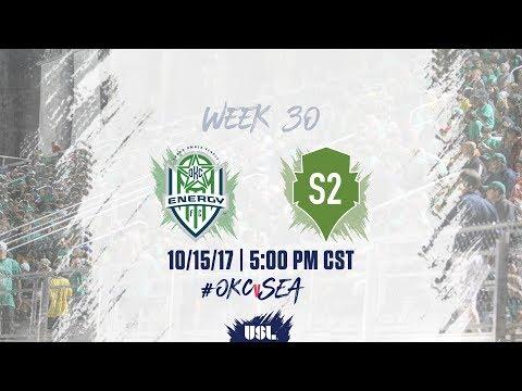USL LIVE - OKC Energy FC vs Seattle Sounders FC 2 10/15/17