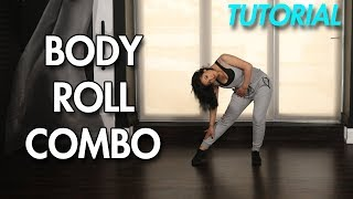 How to Body Roll [Combo] (Hip Hop Dance Moves Tutorial) | MihranTV - Stafaband
