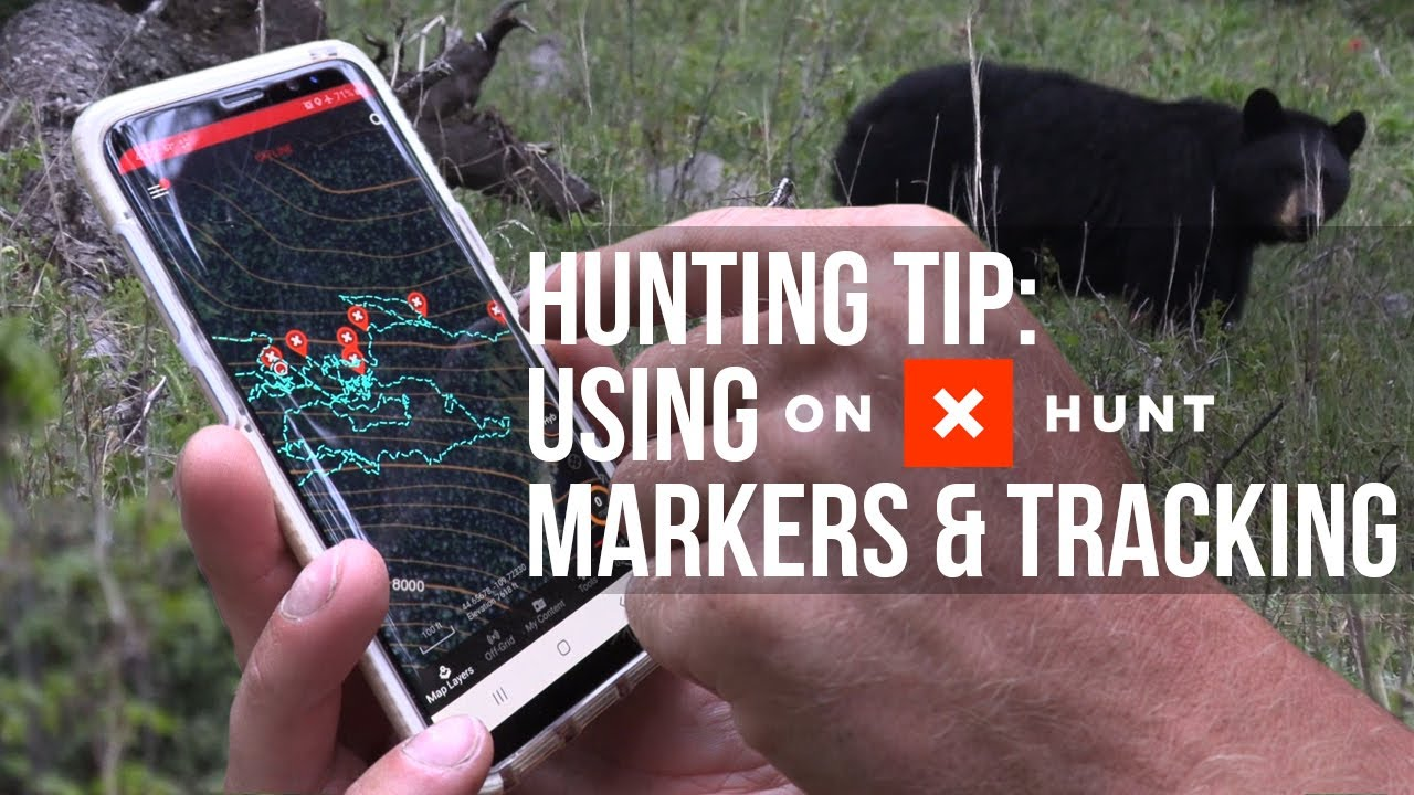 Find A Wounded Animal - Hunt Tracking onXhunt App