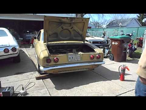 First start 1969 Corvair in 26 years