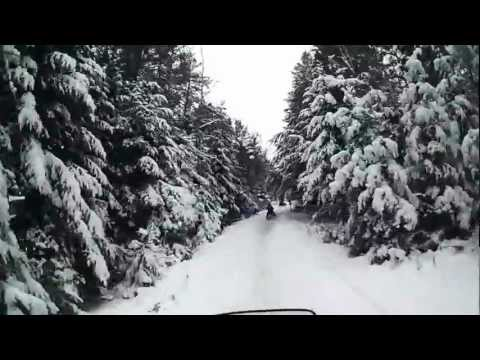 Skyview Lodge Presque Isle WI Snowmobiling
