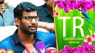 Tamilrockers சோலிய முடிச்சர்லாம் : Vishal Angry Speech | Producers Council Strike | Press Meet