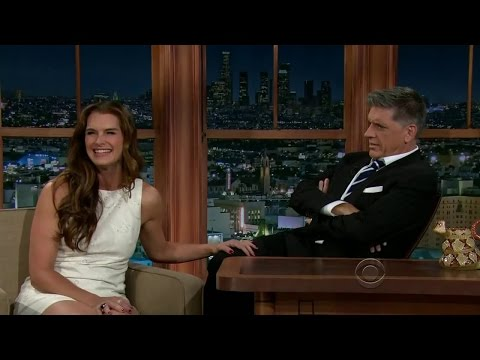 Brooke Shields on Craig Ferguson Late Late Show, FULL interview