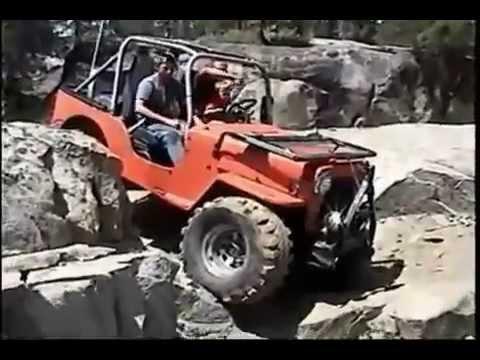 Kid Driving Rock Crawler