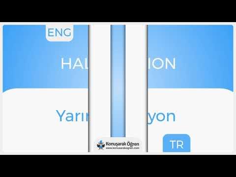 Half pension Nedir? Half pension İngilizce Türkçe Anlamı Ne Demek? Telaffuzu Nasıl Okunur?