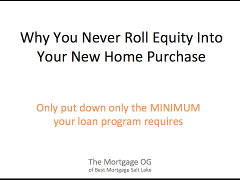 Why You keep your down payment 801 523 1008 BestMortgageSaltLake.com