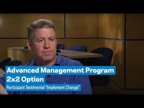 Advanced Management Program 2x2 Profile: James Donaghy