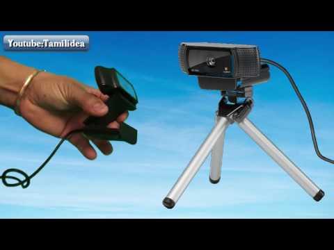 Logitech C920 HD Pro Webcam Review + Test in தமிழ்/Tamil