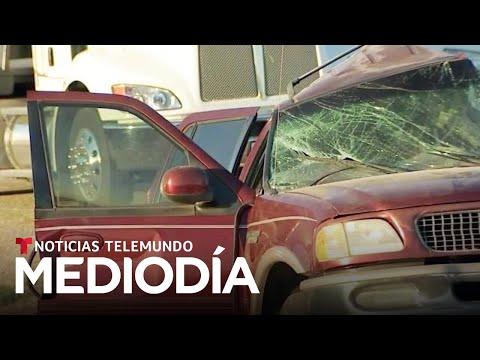 Sospechan de tráfico humano tras accidente en California | Noticias Telemundo