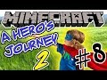 I'M IN THE GAME AND FIGHT MYSELF! Minecraft Adventure Map - A Hero's Journey 2 - Ep. 8