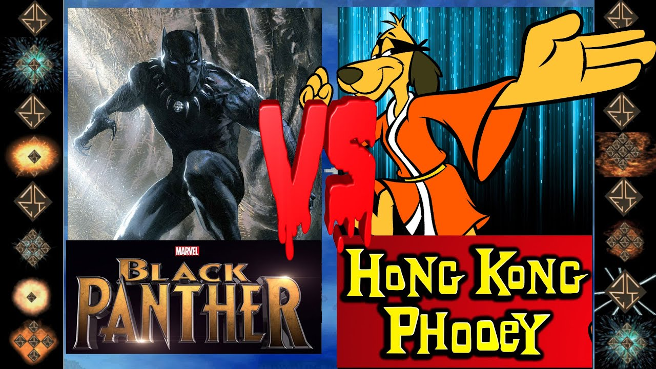 Download Black Panther (Marvel Comics) vs Hong Kong Phooey (Hanna-Barbera) - Ultimate Mugen Fight 2016