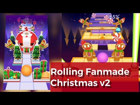 Rolling Sky - Christmas v2 | Fan-made vs Normal
