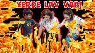 Yerde Lav Var Oyunu THE FLOOR is LAVA CHALLENGE YERLER LAV The Floor is Lava Bidünya Oyuncak