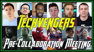 Techvengers Pre-Collaboration Meeting | Behind the Scenes Look
