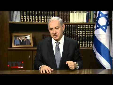 Видео: Нетаниягу поздравил с Новым годом и призвал евреев переезжать в Израиль