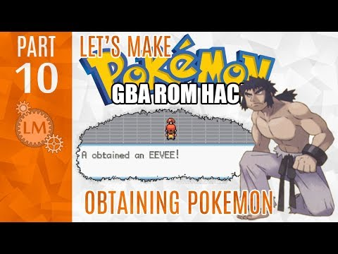 How To Make A Pokemon Rom Hack GBA Part 10 ⚙ Giving The Player A Pokemon
