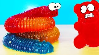 A HUGE WORM VALERA AND VALERA GUMMY BEAR