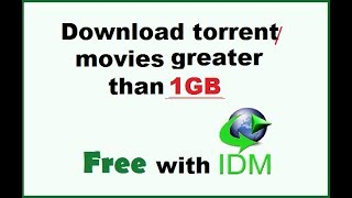 How to download torrent movies without utorrent (Fastest way) 2018
