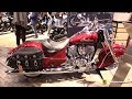 2018 Indian Chief Classic - Walkaround - 2017 EICMA Milan Motorcycle Exhibition